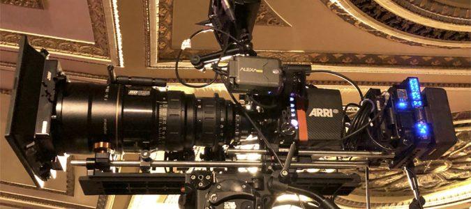 Arri Anamorphic Cameras Go Live To Capture Bad Bunny & Kali Uchis.